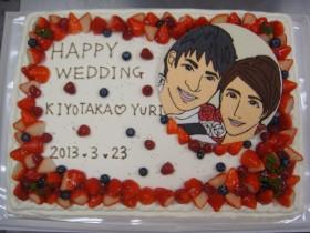 四角イベントケーキ