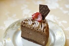 チョコチーズスフレ(カット)
