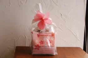 桜のギフトバッグ